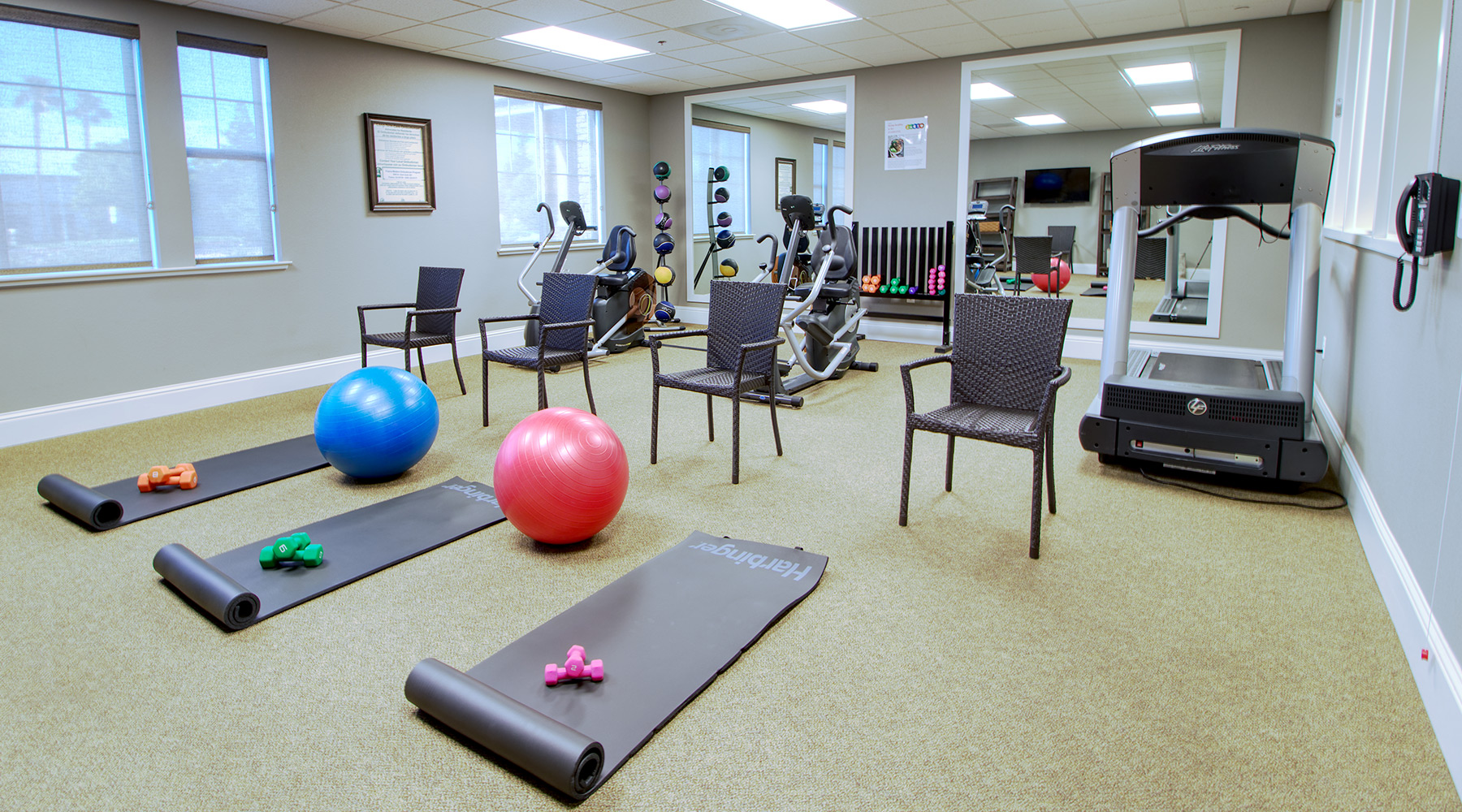 Carmel Village Fitness Room