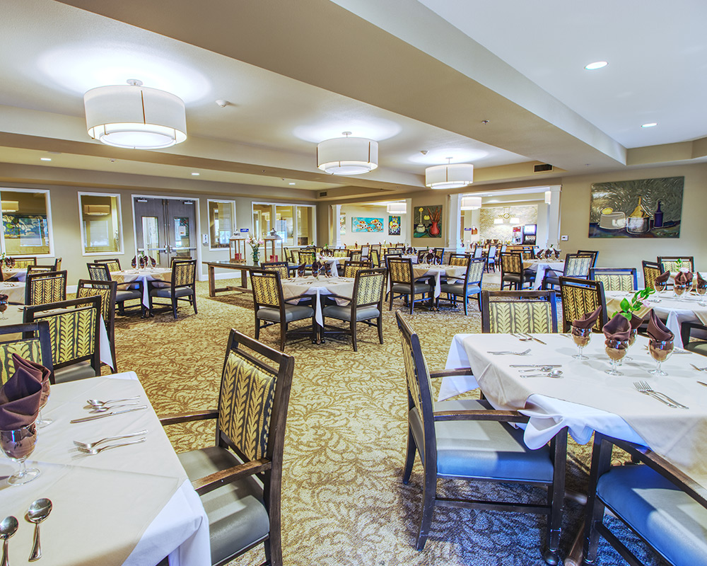 Retirement Home Dining Area